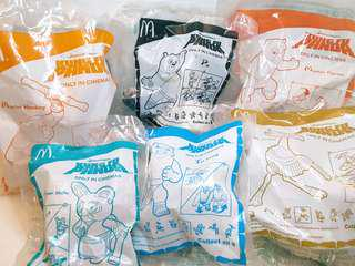2008 共6件 麥當勞功夫熊貓第1集 McDonald's Kung Fu Panda (6pcs)