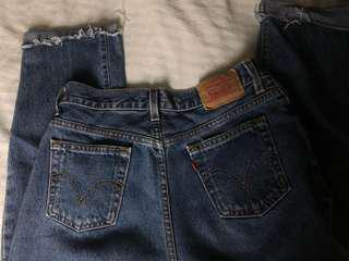 high waisted levi's jeans