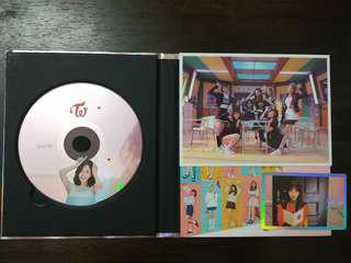 (WTS) Twice Signal Album Pink Version with Mina CD plate