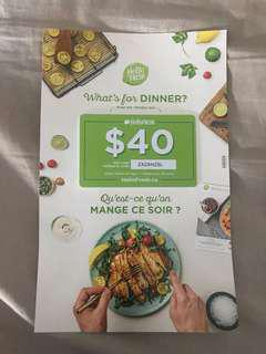 HELLO FRESH VOUCHER