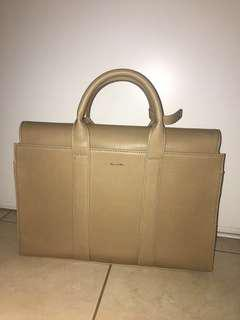 Beige Matt&Nat Satchel Bag