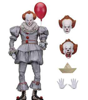 "NECA IT Ultimate Pennywise 7"" Figure (2017 Movie) 小丑 joker 美國隊長 hottoys mafex marvel legends mattel shf lego"