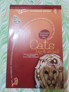 Polymer Clay book - Cats
