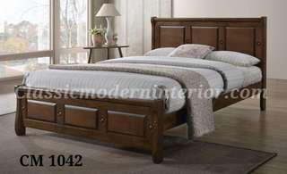 Bed Frame Solid Wood CM 1042