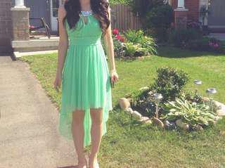 Green Prom/Grad Dress