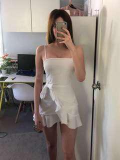 White mini dress SIZE 6