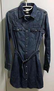 LEVI DENIM DRESS UK 10, 12, 14