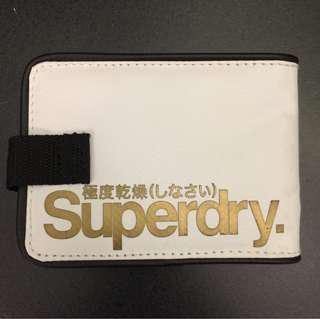 Superdry White/Black Men's Tarp Wallet
