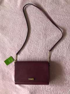 REPRICED! Kate Spade New York Tilden Place Alek Crossbody in Rioja