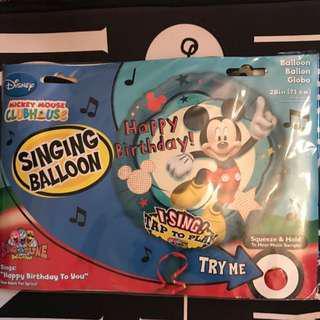 🚚 #DIRTY30 ⚠️Mickey Mouse Foil Balloon