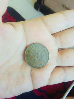 Syiling 50 sen lama