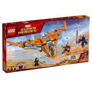 Original LEGO Avengers Infinity War Thanos Ultimate Battle 76107
