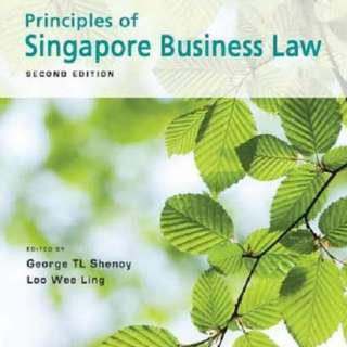 Principles of Singapore Business Law (2nd Edition, 2013) [Rent]