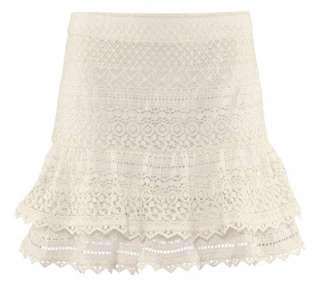 "Crochet/Lace H&M ""The New Icons"" Skirt"