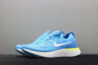 Nike Epic React Flyknit 'Blue Volt Glow'