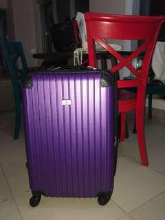 Santa Barbara Purple Trolley Luggage