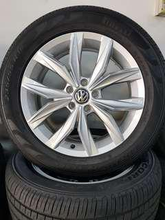 18 Inch 5x112 Brand New Original VW Rim & Tyre