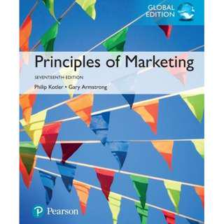 Principles of Marketing (17th edition) [Rent]