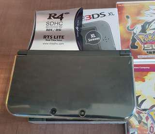 Nintendo 3DS XL plus games