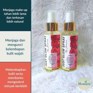 Face Spray | Spray Wajah Rose Water JUST GLOW