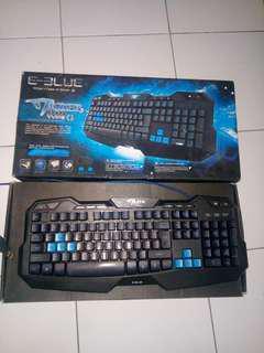 Keyboad Gaming Mazer E-Blue type G