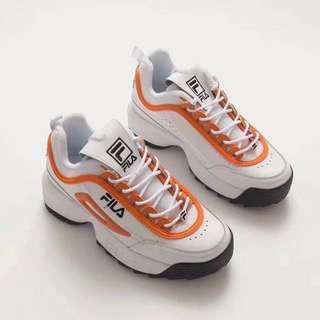 FILA Disruptor II 'Orange / White'