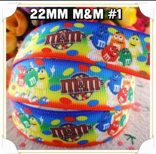 22mm M&M Ribbons