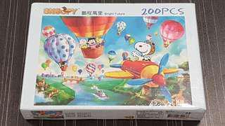 狗年精選 全新未開Snoopy 史諾比200pcs 37.5x25.5cm 砌圖 拼圖 puzzle