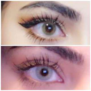 Hidrocor contact lenses