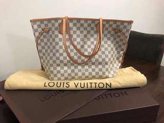 Louis Vuitton Neverfull MM - Damier Azur