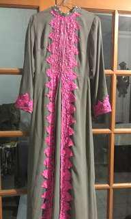 Miss dee long dress