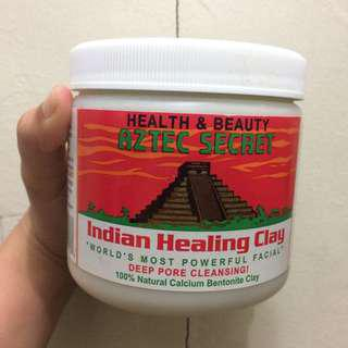 AZTEC HEALING CLAY ON HAND