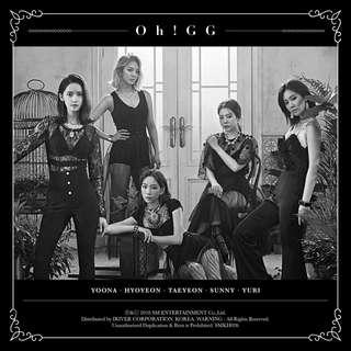 Girls' Generation : Oh!GG - Single Album [Didn't you know] (Kihno Album)+limited poster