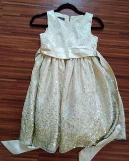 Glittery kids dress