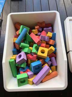 儿童泡沫积木