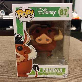 🚚 Funko Pop! Disney The Lion King - Pumbaa #087