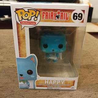 🚚 Funko Pop! Animation Fairy Tail - Happy (Flocked) #069