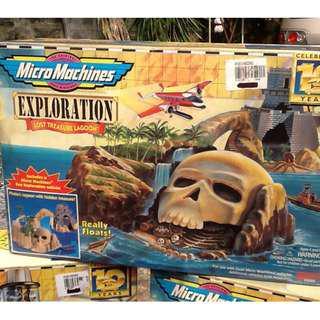 Micro Machine Play sets