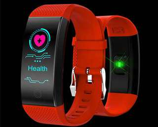 Smart Band Heart Rate Monitor Color Screen 4.0 Sports Wristband IP68 Waterproof Fitness Bracelet
