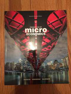 Principles of Micro Economics 7 Edition