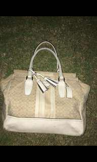 Orig Coach bag large