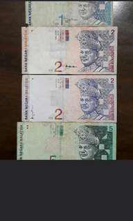Duit Lama, wang kertas lama