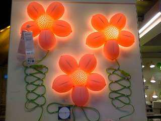 Kid's Flower Wall Lamp