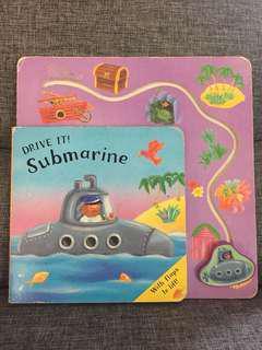Drive it submarine