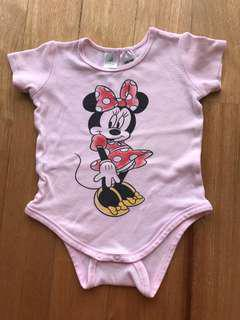 Minnie Mouse Romper 12-18 months