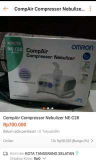 CompAir Compressor Nebulizer NE-C28