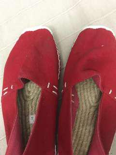 Red espadrilles Shoes