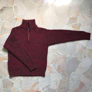 Baleno Red Sweater