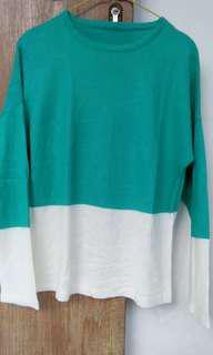 Sweater turquoise