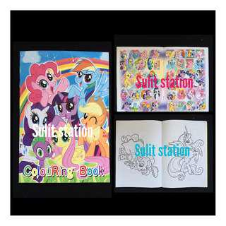 MLP MY LITTLE PONY STICKER COLORING BOOK party giveaways souvenir needs favor